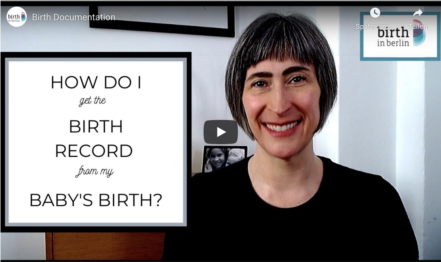 Birth Record