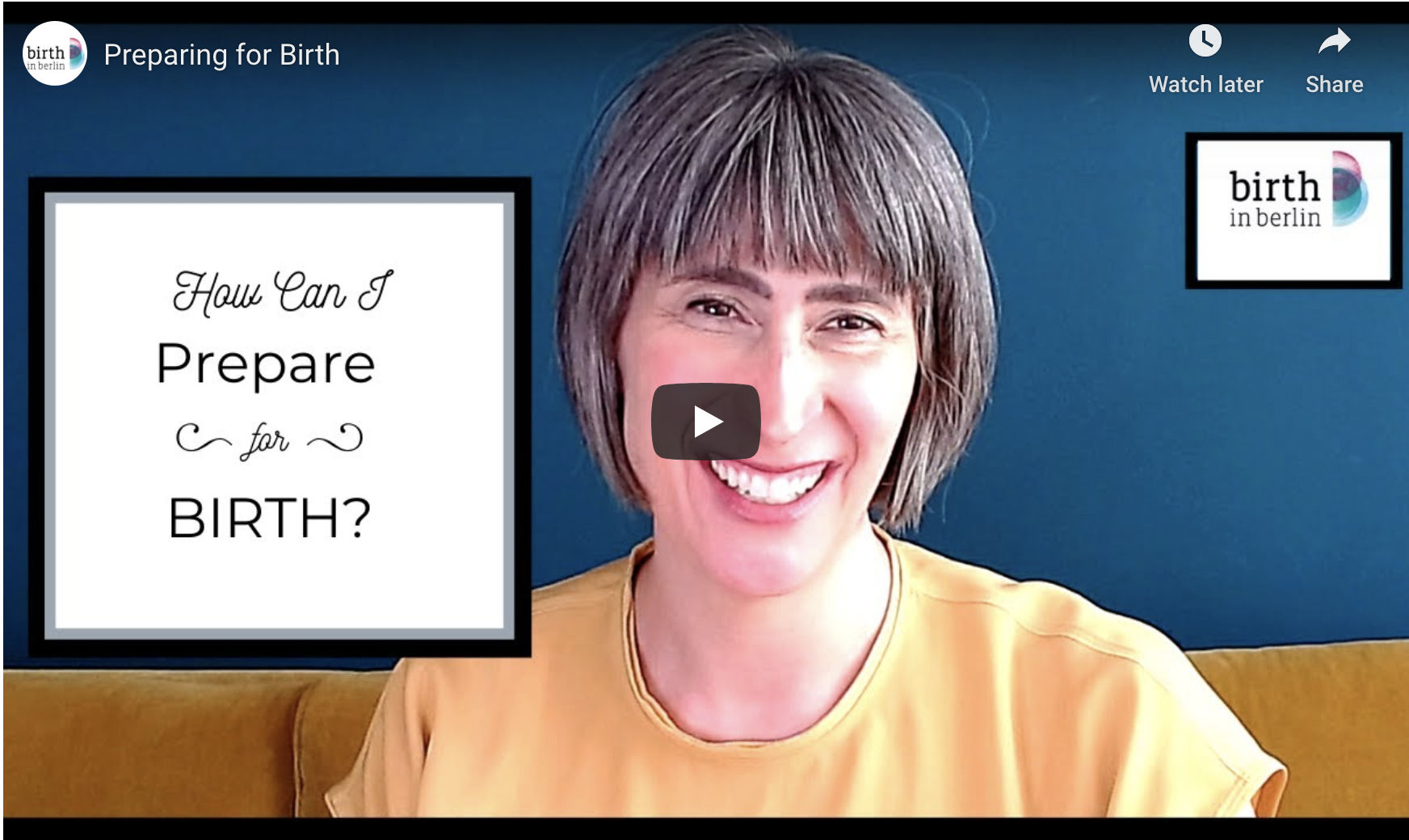 How Can I Prepare Birth?